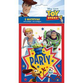 Disney's Toy Story 4 Invitations