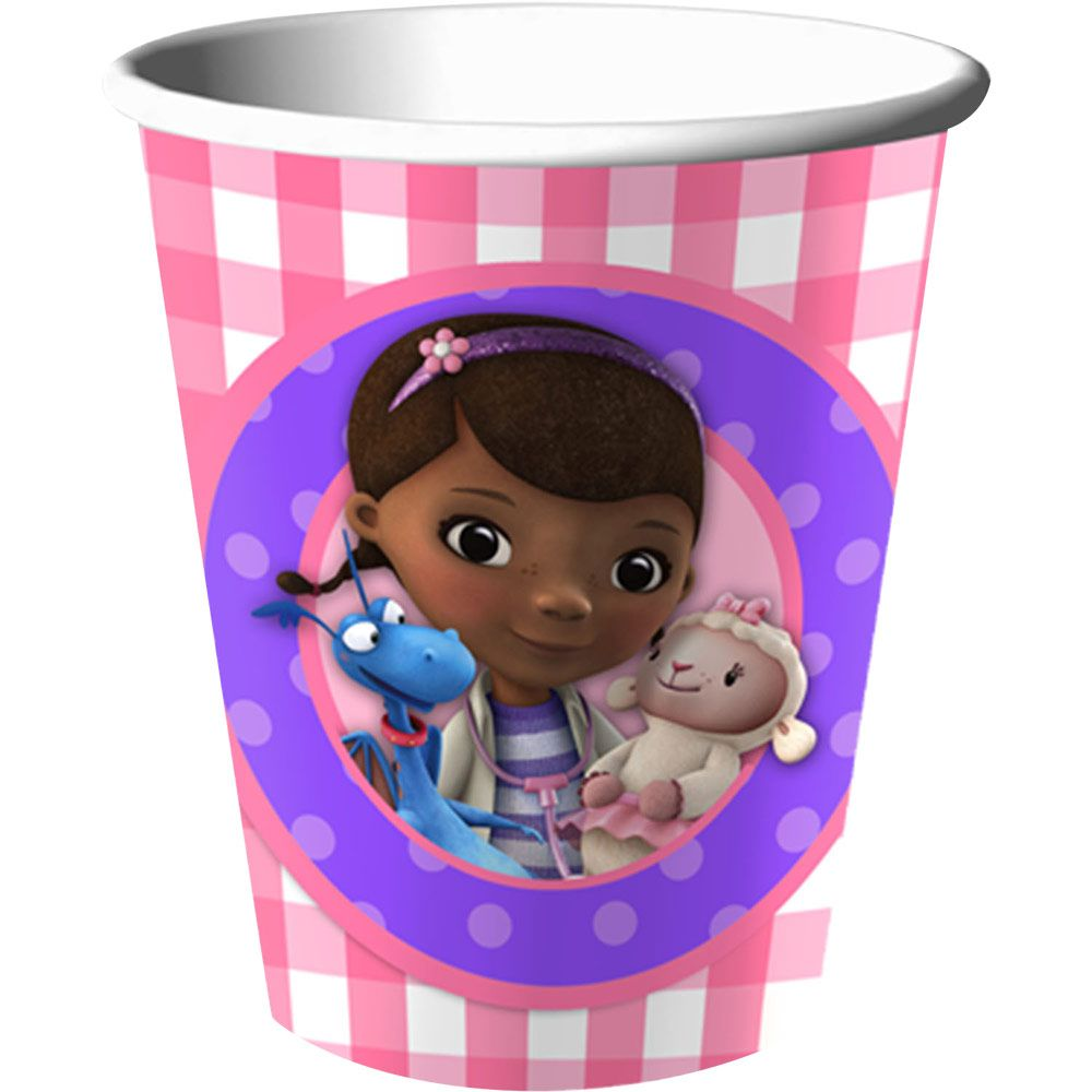 Doc Mcstuffins 9 Oz Cups (8 Count) BB1DRC1006