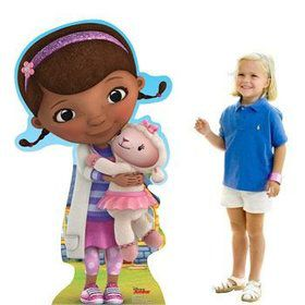 Doc McStuffins Cardboard Standup Decoration (Each)