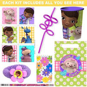 Doc McStuffins Deluxe Favor Kit (Each)
