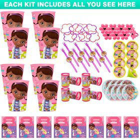 Doc McStuffins Favor Kit (For 8 Guests)