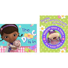 Doc McStuffins Invitation & Thank You (16 Count)