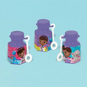 Doc McStuffins Mini Bubbles .6oz (12 Pack)