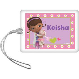 Doc McStuffins Personalized Bag Tag (Each)