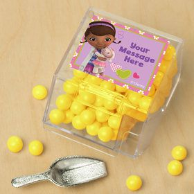Doc Mcstuffins Personalized Candy Bin with Candy Scoop (10 Count)