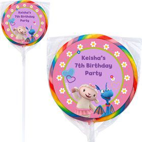 Doc McStuffins Personalized Lollipops (12 Pack)