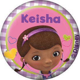Doc McStuffins Personalized Mini Button (Each)