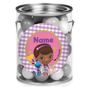 Doc Mcstuffins Personalized Mini Paint Cans (12 Count)