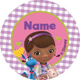 Doc McStuffins Personalized Mini Stickers (Sheet of 20)