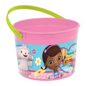 Doc McStuffins Plastic Favor Container (Each)