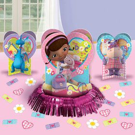 Doc McStuffins Table Decorating Kit (Each)
