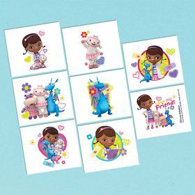 Doc McStuffins Tattoo Favors (16 Pack)