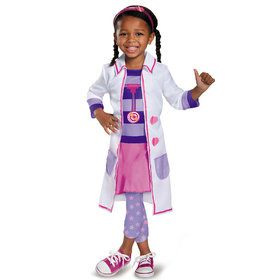 Doc McStuffins Toy Hospital Classic Kids Costume