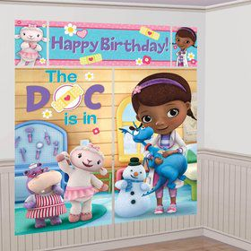 Doc McStuffins Wall Decorating Kit (Each)