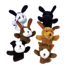 Dog Finger Puppets (12)