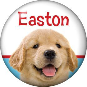 Dog Party Personalized Mini Magnet (each)