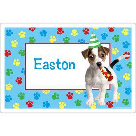 Dog Party Personalized Placemat (each)
