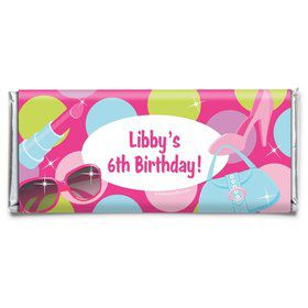 Doll Party Personalized Candy Bar Wrapper (Each)