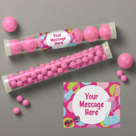 Doll Party Personalized Candy Tubes (12 Count)