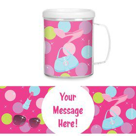 Doll Party Personalized Favor Mugs (Each)