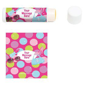 Doll Party Personalized Lip Balm (12 Pack)