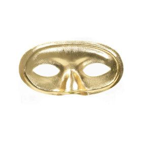 Domino Mask Gold