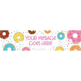 Donut Personalized Banner (Each)