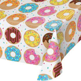 Donut Time Plastic Table cover (each)