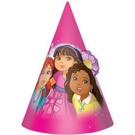 "Dora and Friends 6"" Party Hats (8 Pack)"