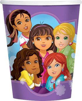 Dora and Friends 9oz Cups (8 Pack)