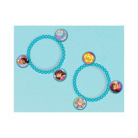 Dora and Friends Charm Bracelet Favors (4 Pack)
