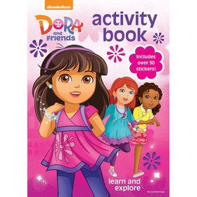 Dora and Friends Coloring & Activity Book (Each)