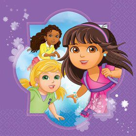 Dora and Friends Luncheon Napkins (16 Pack)