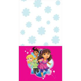 Dora and Friends Plastic Table Cover (Each)