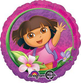"Dora the Explorer 18"" Balloon (Each)"