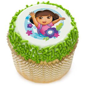 "Dora the Explorer 2"" Edible Cupcake Topper (12 Images)"