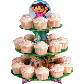 Dora the Explorer Cupcake and Treat Stand (Each)