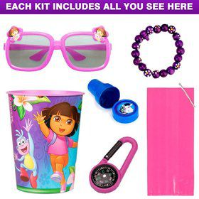 Dora The Explorer Favor Kit (for 1 Guest)