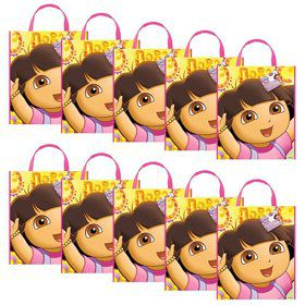 Dora The Explorer Tote Bags (Set Of 10)