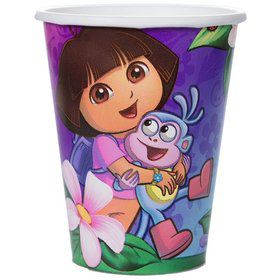 Dora's Flower Adventure 9oz Cups (Set Of 8)