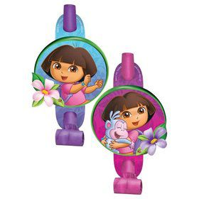 Dora's Flower Adventure Blowouts (Set Of 8)