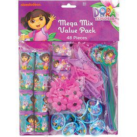 Dora's Flower Adventure Favor Pack (Set Of 8)