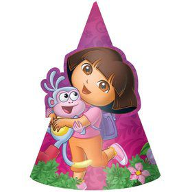 Dora's Flower Adventure Paper Hats (Set Of 8)