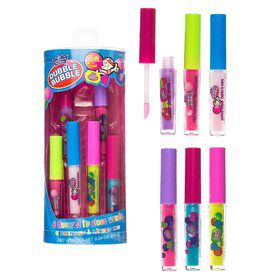 Double Bubble Lip Gloss (6 Count)