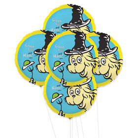 Dr. Seuss 5pc Foil Balloon Kit