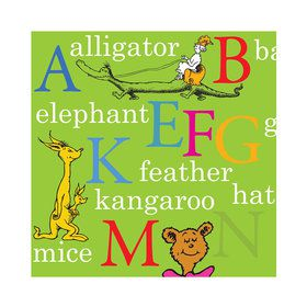 Dr. Seuss ABC - Beverage Napkins