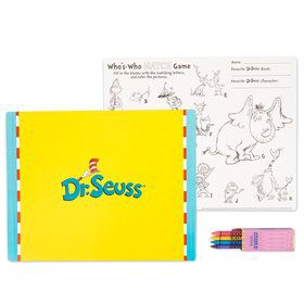 Dr. Seuss Activity Placemat Kit for 4