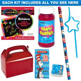 Dr. Seuss Deluxe Favor Kit (Each)