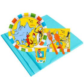 Dr Seuss Favorites 16 Guest Party Pack