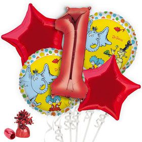 Dr. Seuss Favorites 1st Birthday Balloon Bouquet Kit
